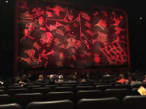 Minskoff Theatre, secção: Orchestra C, fila: M, lugar: 115