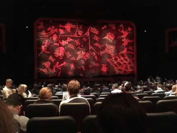 Minskoff Theatre, secção: Orchestra C, fila: U, lugar: 109