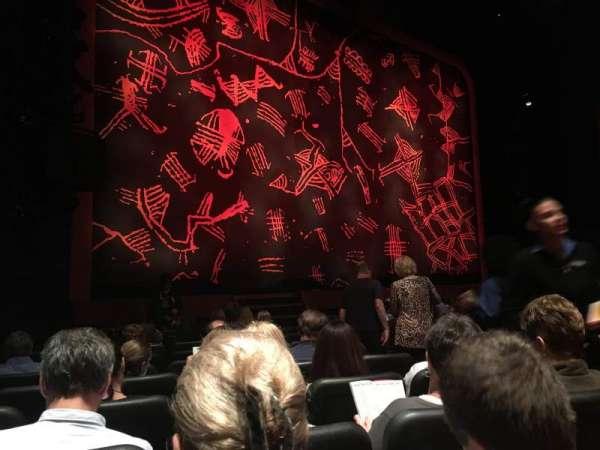 Minskoff Theatre, secção: Orchestra L, fila: K, lugar: 5