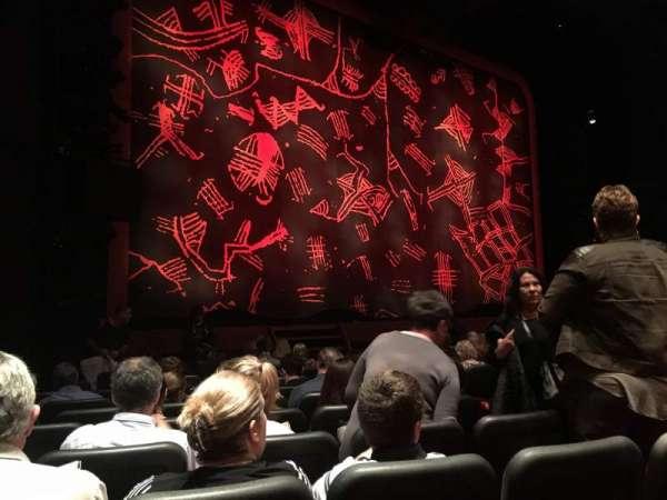 Minskoff Theatre, secção: Orchestra L, fila: L, lugar: 7