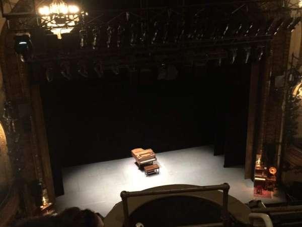 Palace Theatre (Broadway), secção: Balcony Left, fila: B