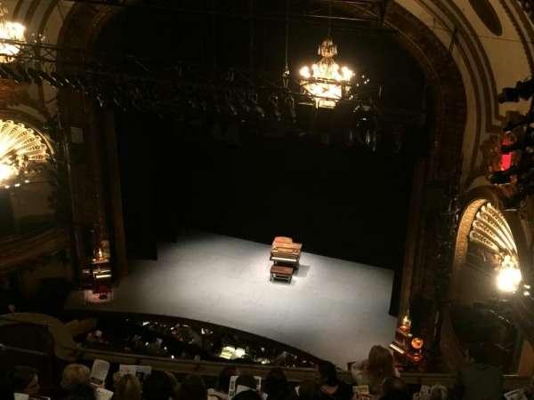 Palace Theatre (Broadway), secção: Balcony Right, fila: H