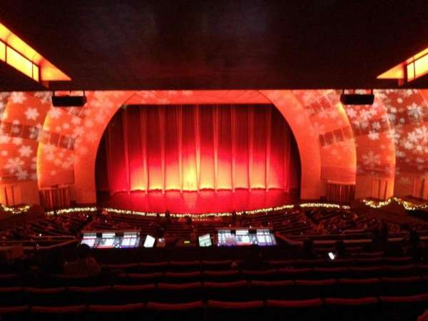 Radio City Music Hall, secção: 2nd Mezzanine 4, fila: K, lugar: 407