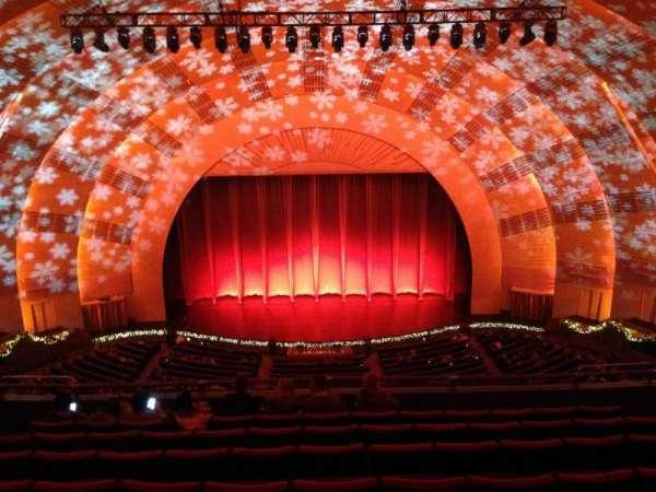 radio city music hall, secção: 3rd Mezzanine 4, fila: h, lugar: 407