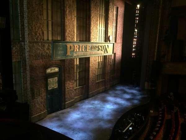 Al Hirschfeld Theatre, secção: Left Box, fila: D