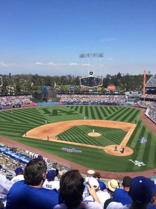 Dodger Stadium, secção: 7, fila: G, lugar: 9