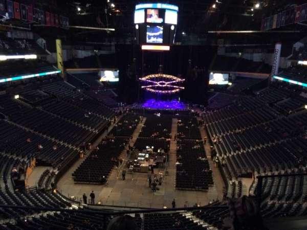 Bridgestone Arena, secção: 301, fila: C, lugar: 3