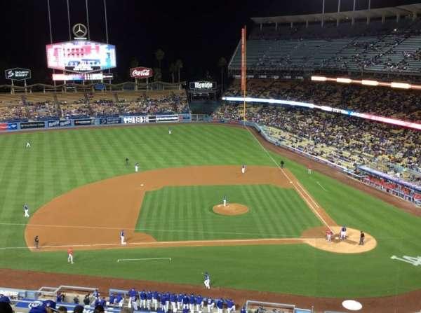 Dodger Stadium, secção: 15RS, fila: L, lugar: 2