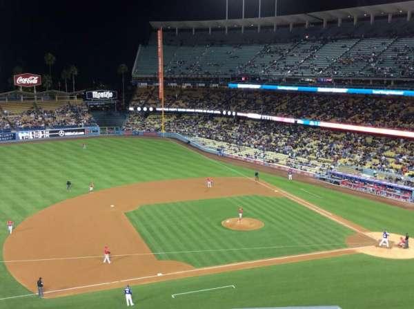 Dodger Stadium, secção: 23RS, fila: E, lugar: 7
