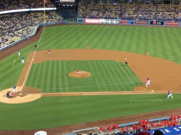 Dodger Stadium, secção: 10RS, fila: B, lugar: 6