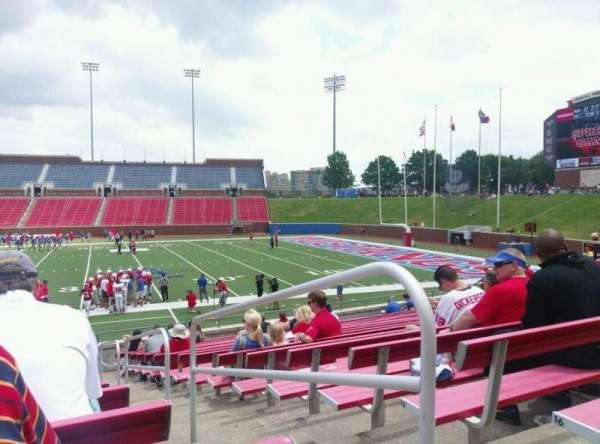 Gerald J. Ford Stadium, secção: 102, fila: 17