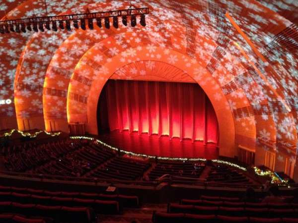Radio City Music Hall, secção: 3rd Mezzanine 1, fila: H, lugar: 108