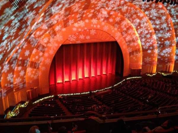 Radio City Music Hall, secção: 3rd Mezzanine 7, fila: F, lugar: 709