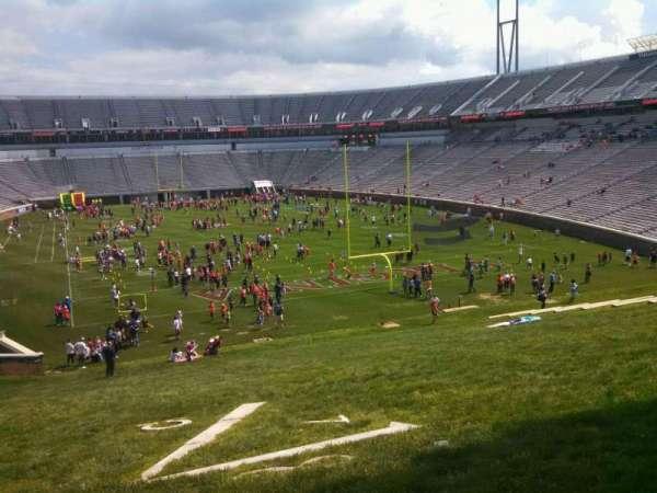 Scott Stadium, secção: Hillside, fila: NA, lugar: NA
