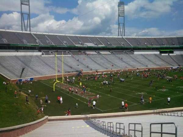 Scott Stadium, secção: 131, fila: NN, lugar: 5