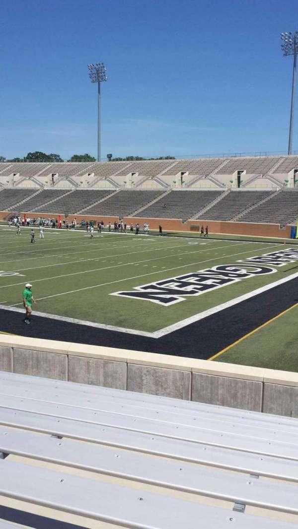 Apogee Stadium, secção: 101, fila: 13, lugar: 1