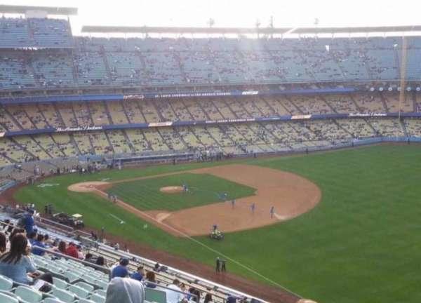 Dodger Stadium, secção: 40RS, fila: J, lugar: 4