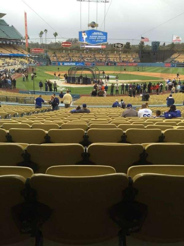 Dodger Stadium, secção: 6fd, fila: w, lugar: 6