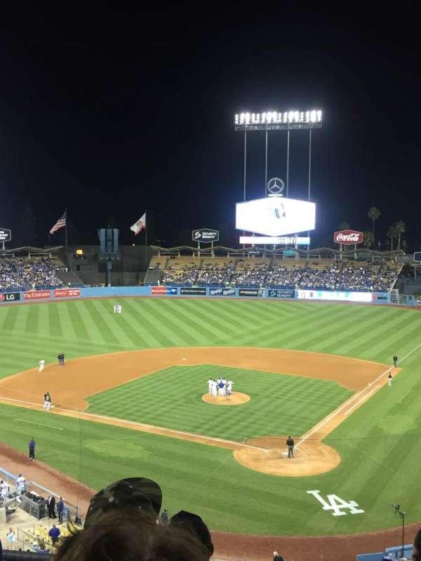 Dodger Stadium, secção: 5RS, fila: D, lugar: 10