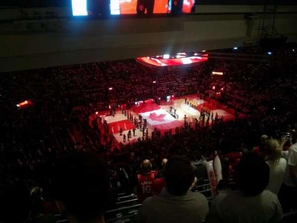 Scotiabank Arena, secção: 311, fila: 18, lugar: 19