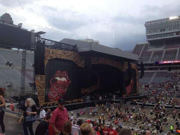 Ohio Stadium, secção: 26A