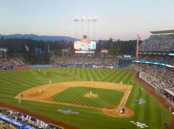 Dodger Stadium, secção: 7RS, fila: B, lugar: 11