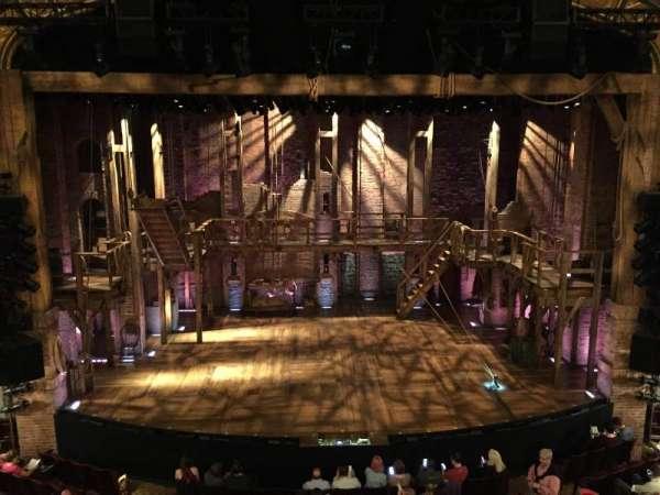 Richard Rodgers Theatre, secção: Front Mezzanine C, fila: A, lugar: 110