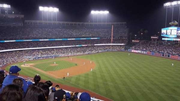 Dodger Stadium, secção: 40RS, fila: J, lugar: 17