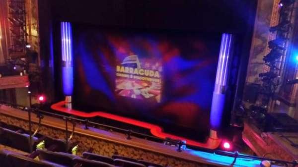 Nederlander Theatre, secção: Rear Mezz, fila: F, lugar: 10