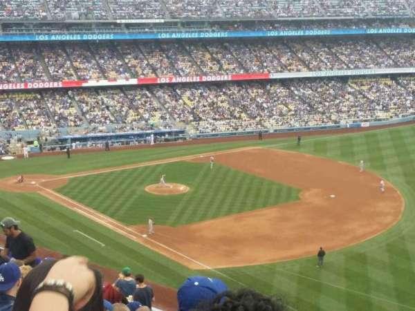 Dodger Stadium, secção: 40RS, fila: S, lugar: 21
