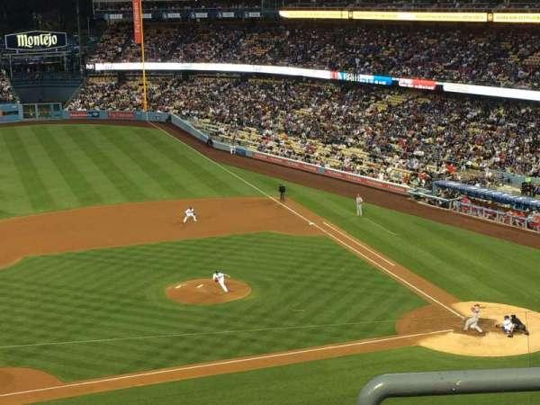 Dodger Stadium, secção: 19rs, fila: C, lugar: 1