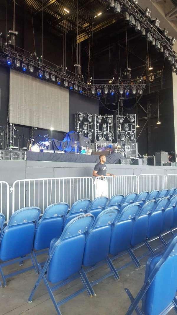 PNC Music Pavilion, secção: 3, fila: D, lugar: 2
