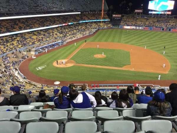 Dodger Stadium, secção: 16RS, fila: H, lugar: 10