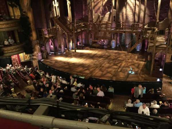 Richard Rodgers Theatre, secção: Front Mezzanine R, fila: A, lugar: 8