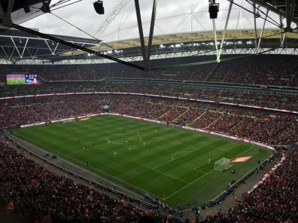 Wembley Stadium, secção: 520, fila: 26, lugar: 196