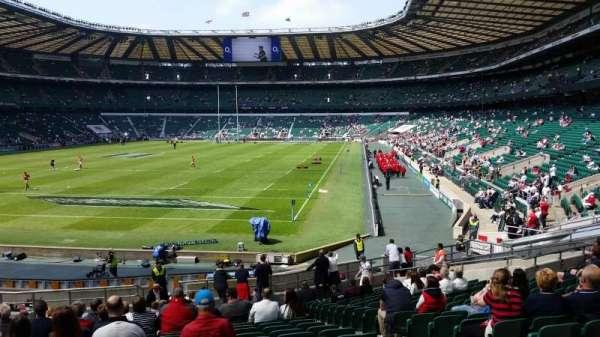 Twickenham Stadium, secção: L32, fila: 27, lugar: 78