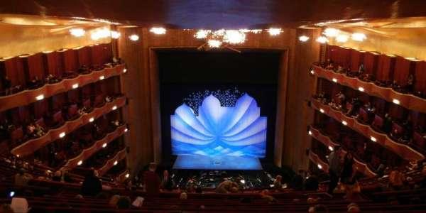 Metropolitan Opera House - Lincoln Center, secção: Family Circle, fila: K, lugar: 109