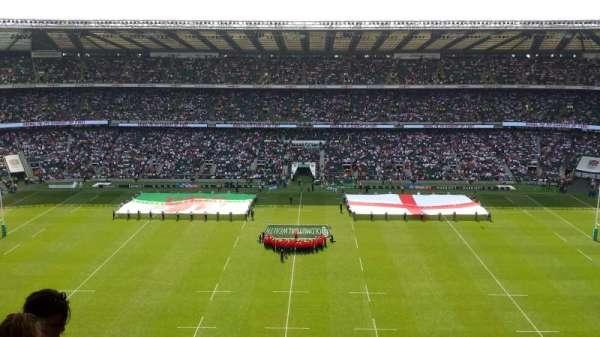 Twickenham Stadium, secção: U33, fila: M, lugar: 239
