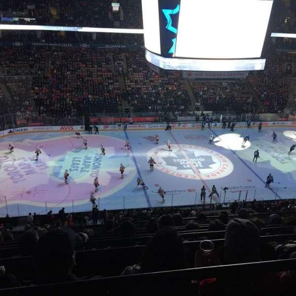 Scotiabank Arena, secção: 310, fila: 9, lugar: 15