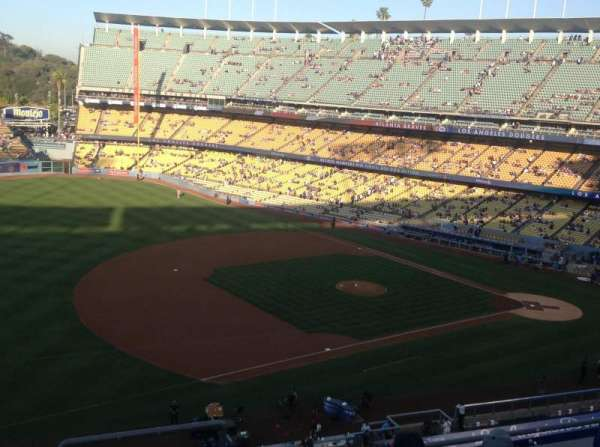 Dodger Stadium, secção: 31RS, fila: F, lugar: 5