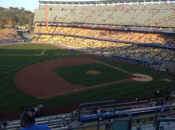 Dodger Stadium, secção: 27RS, fila: F, lugar: 3
