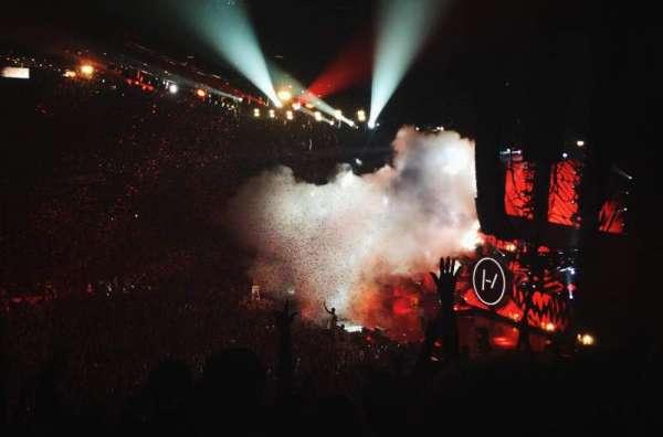 Allstate Arena, secção: 211, fila: M, lugar: 10