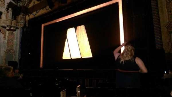 Majestic Theatre - San Antonio, secção: Orchestra R, fila: H, lugar: 6