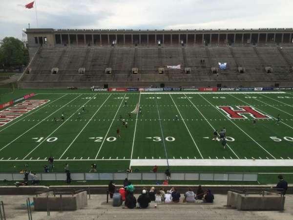 Harvard Stadium, secção: 33, fila: LL, lugar: 12