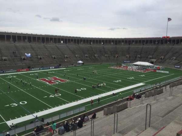 Harvard Stadium, secção: 34, fila: KK, lugar: 10