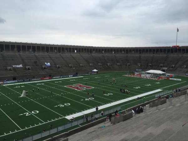 Harvard Stadium, secção: 35, fila: MM, lugar: 14