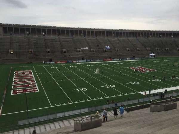 Harvard Stadium, secção: 36, fila: MM, lugar: 12