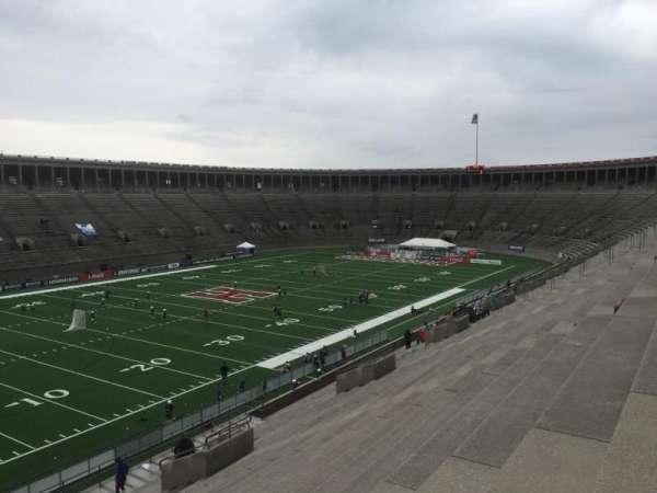 Harvard Stadium, secção: 37, fila: MM, lugar: 4