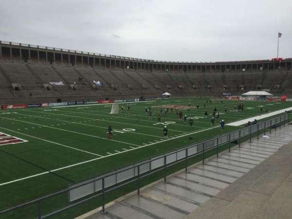 Harvard Stadium, secção: 37, fila: D, lugar: 6