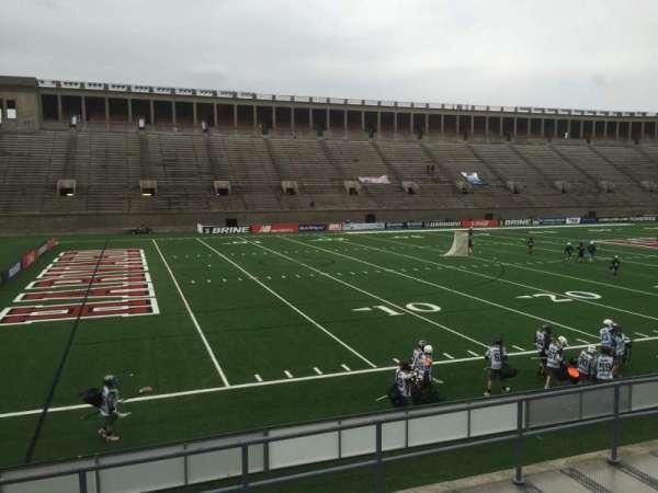 Harvard Stadium, secção: 36, fila: D, lugar: 6